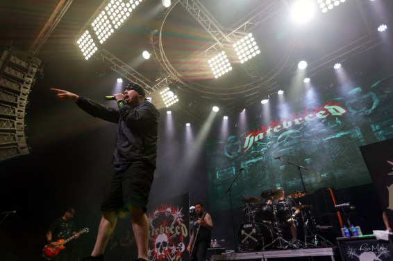 Hatebreed @ Gas Monkey Live, Dallas, TX. Photo by Robb Miller.