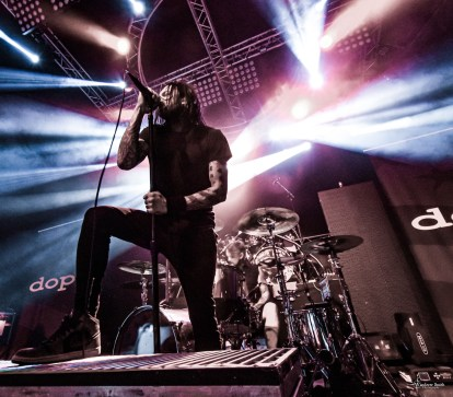 Dope @ Gas Monkey Live, Dallas, TX. Photo by Corey Smith.
