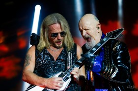 Judas Priest @ The Bomb Factory, Dallas, TX. Photo by Robb Miller.