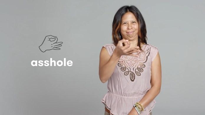 Swearing In Sign Language