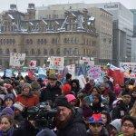 Caring Society rally at parliament Feb 10 2016