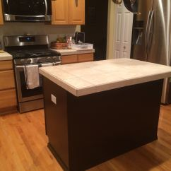 Painted Kitchen Islands Remodeling A Diy Transformation Island