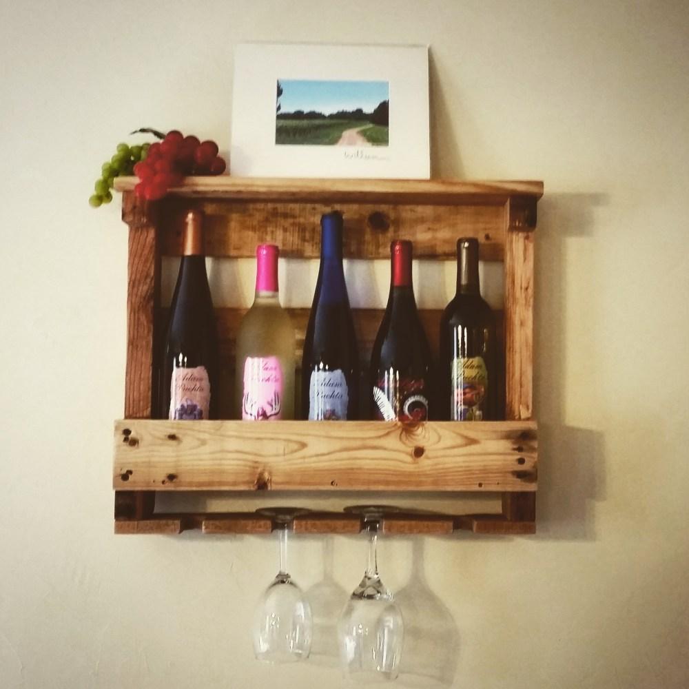 Rustic-Wine-Rack-5-bottles