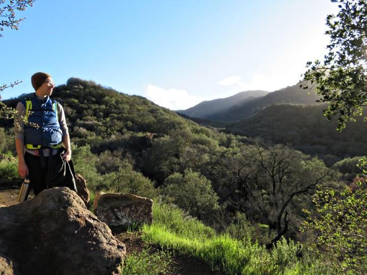 Hiking at Malibu Creek State Park