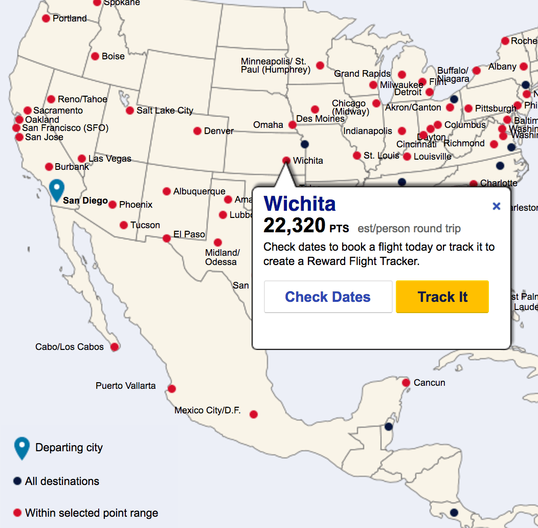 Explore the US with Southwest's Destination Finder