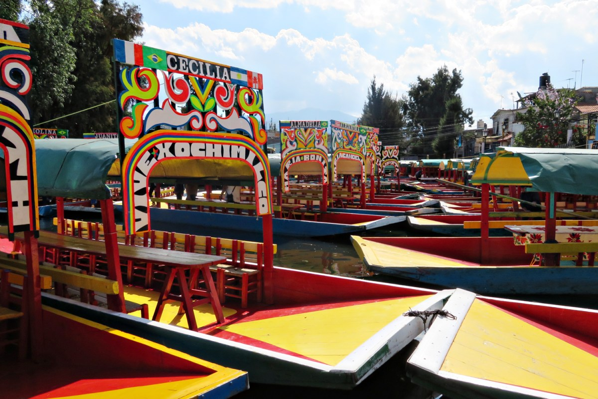 Riding the Technicolor Gondolas in Xochimilco, Mexico City
