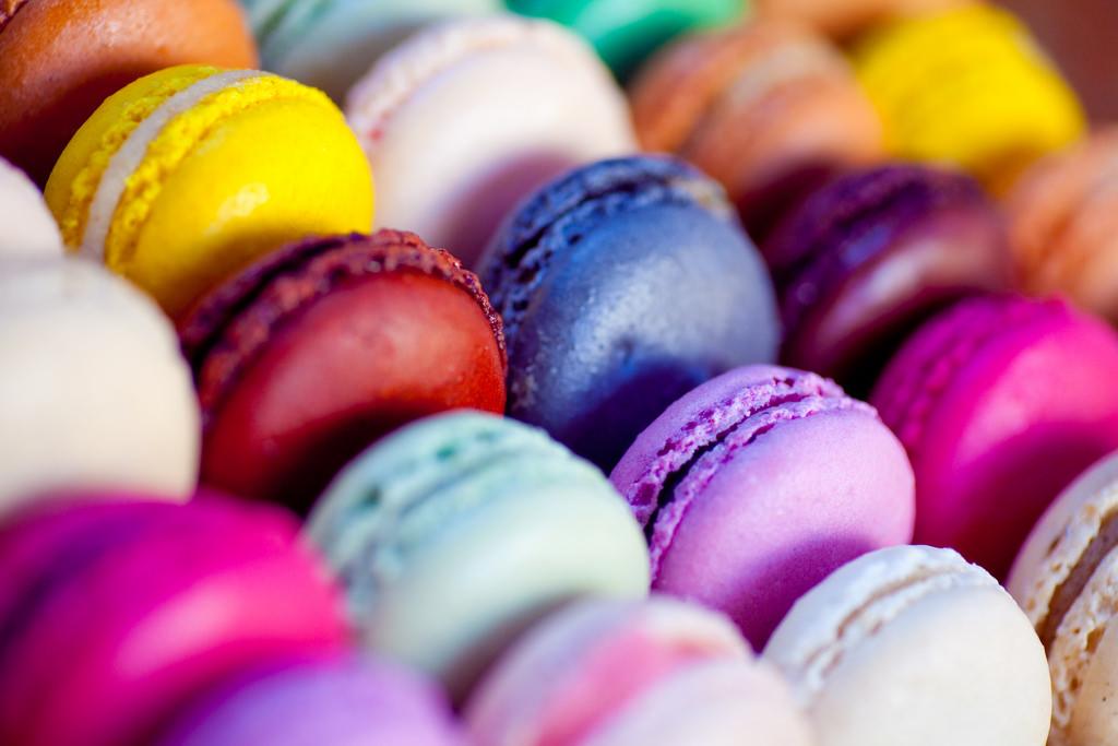 macarons by julien haler on flickr