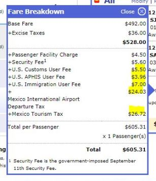 International Fees