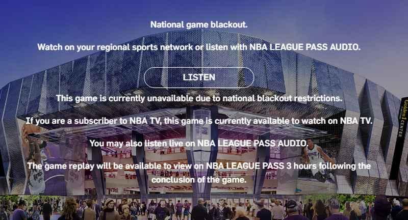 Blackout-Restriction-NBA TV