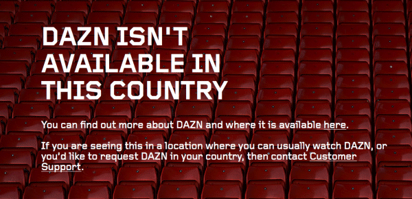 How to Watch DAZN outside Germany or Canada? Unblock in USA with VPN