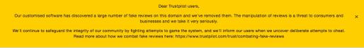 NordVPN Trustpilot Error