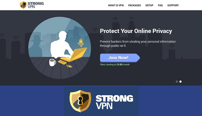 StrongVPN - Top 5 Kodi VPN 2017 Review