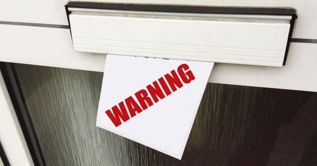 got warning letter for using kodi