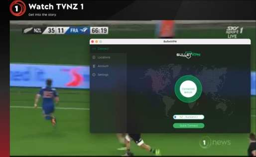 TVNZ BulletVPN