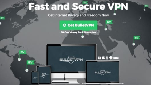 BulletVPN - Best Netflix VPN 2017