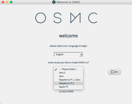 How to install OSMC on SD card.