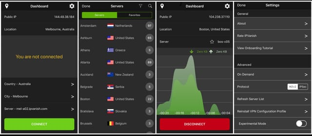 IPVanish Mobile VPN App