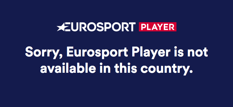 Unblock Eurosport Player in USA, Australia, Canada
