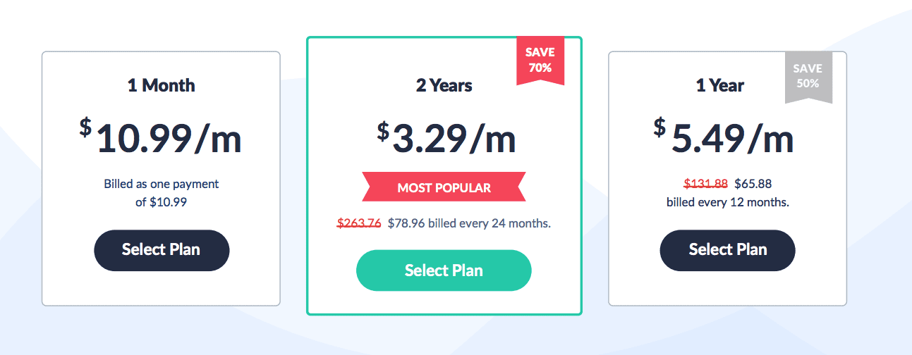 SaferVPN - Plans and Pricing