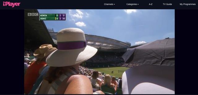 BBC iPlayer's Free Wimbledon 2017 Stream Unblocked with VPN