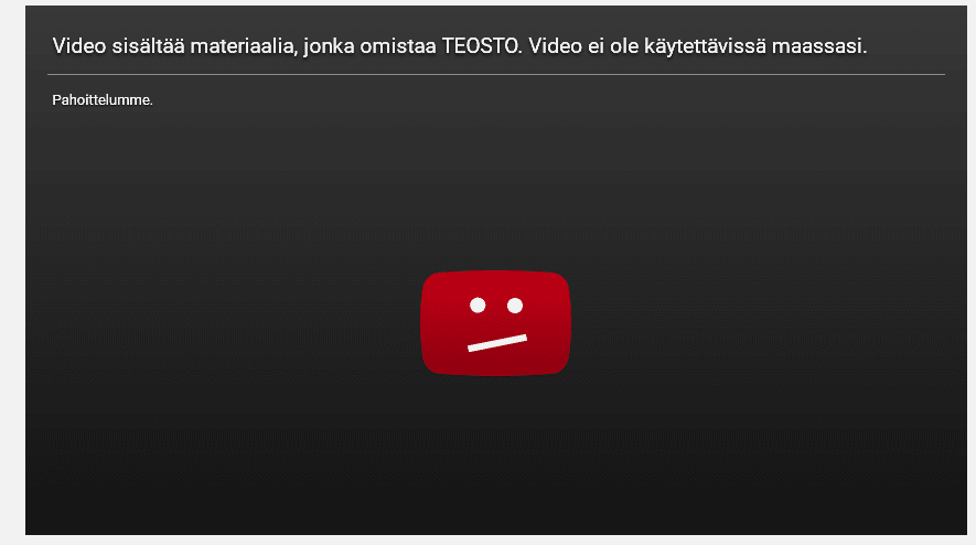 How to Unblock Youtube Videos in Finland