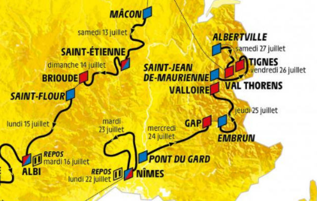 Tour de France 2019 Road