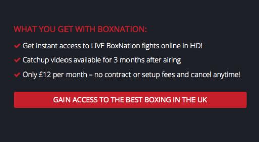 BoxNation Subscription