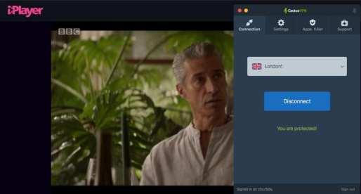 BBC iPlayer Working Cactus