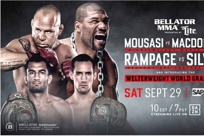 Watch Bellator 206 Mousasi VS MacDonald Live in Seconds