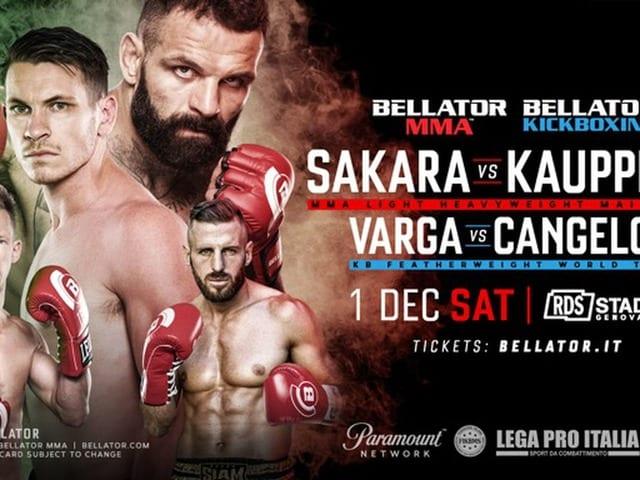 Watch Bellator 211 Sakara VS Kauppinen Live Online
