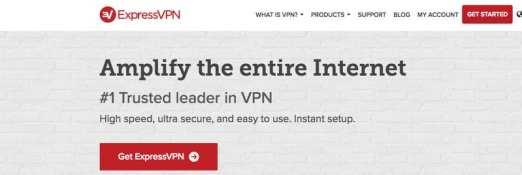 Sign up with ExpressVPN
