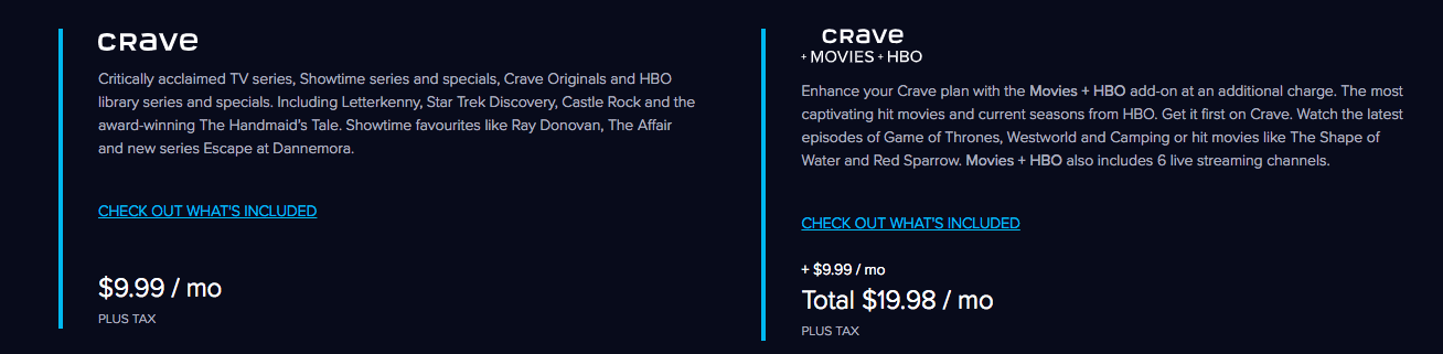 Crave Subscription