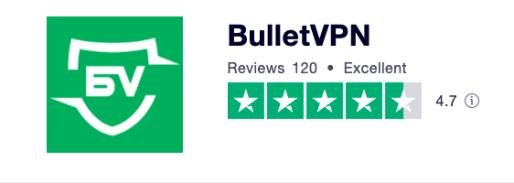 BulletVPN Trustpilot