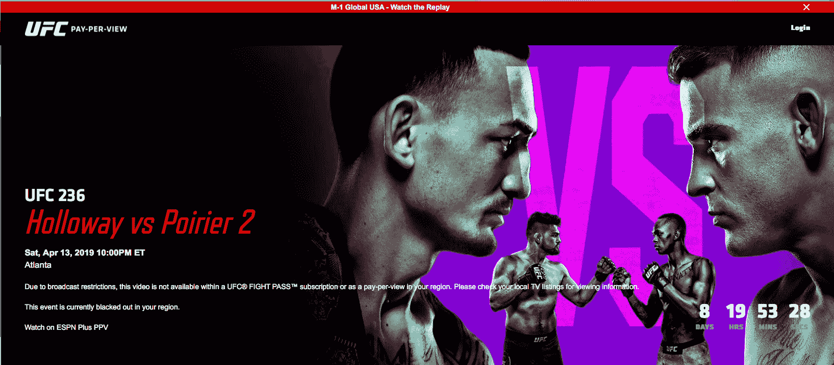 Bypass UFC Fight Pass Blackouts How to with VPN/Proxies