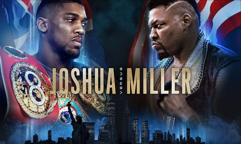 How to Watch Joshua vs. Miller Live Online