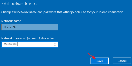 Insert Connection Details