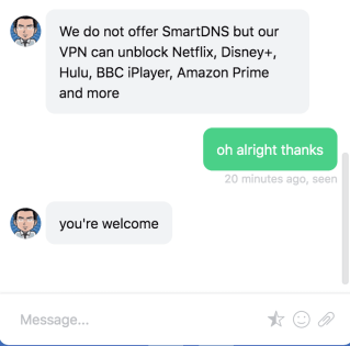 Smart DNS Switch VPN