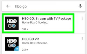 HBO Go select