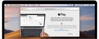 Apple Pay Mac setup