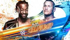 Kofi Kingston vs. Randy Orton