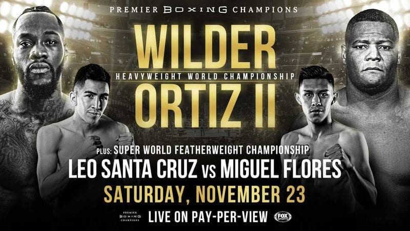 Wilder vs Ortiz II