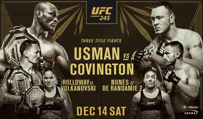 How to Watch UFC 245 Live Online