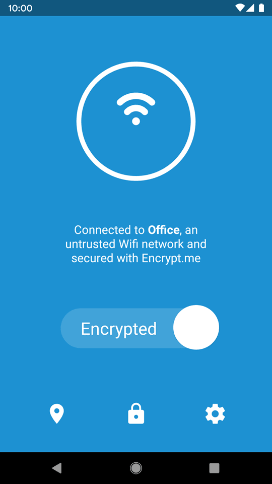 Encrypt me Android 1