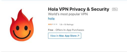 Hola iOS