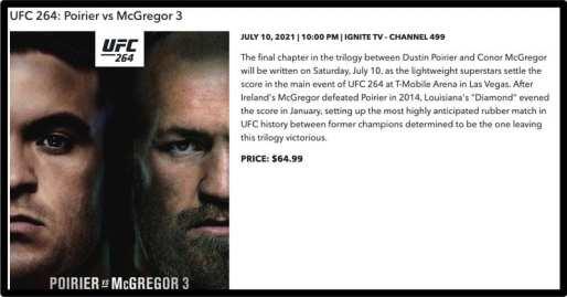 UFC 264 Rogers