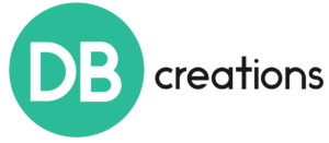 This image has an empty alt attribute; its file name is DB-Creations-logo-300x131.png