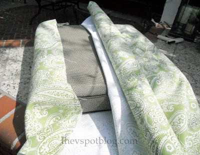 recover sofa cushions how to fix sagging down if you can wrap a gift, chair cushion ...