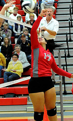 O-G beats Cougars in WBL volleyball « The VW independent