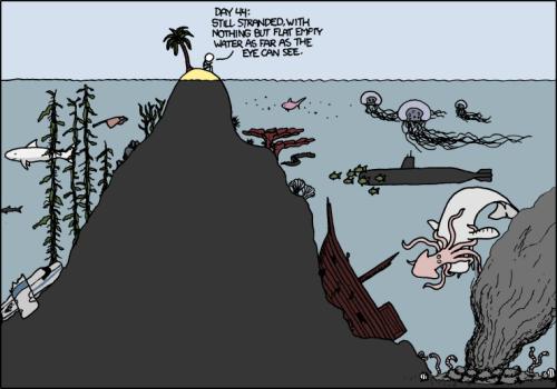 Desert Island Comic