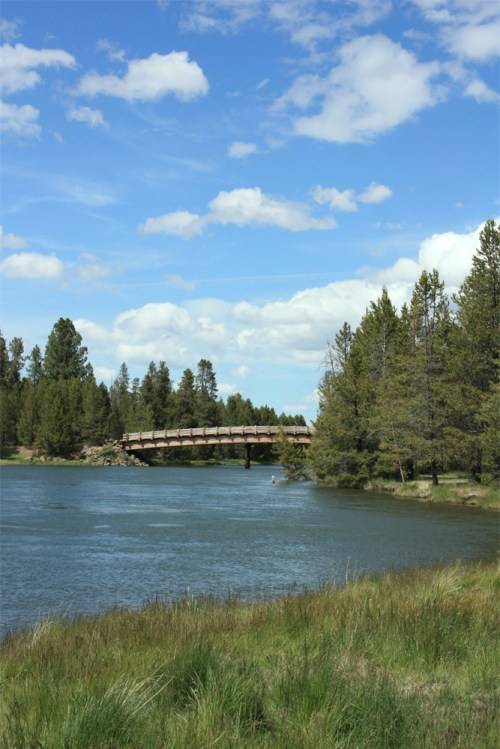 photograph of Deschutes River